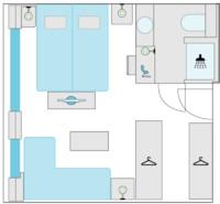 2-Bett-Juniorsuite, E 21 m²