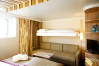 2-Bett-Familienkabine, G 28 m²