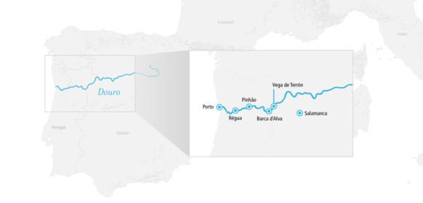 Douro Erlebnis inklusive Flug