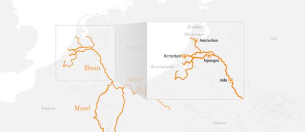 Rhein Kurz-Kreuzfahrt Niederlande