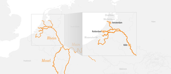 Rhein Kurz-Kreuzfahrt Amsterdam & Rotterdam 2022