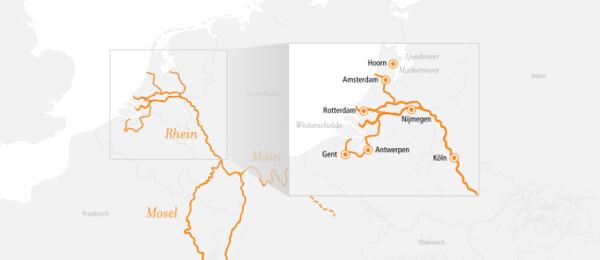 Rhein Erlebnis Kurs Nord 2022