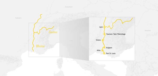 Rhône Route Méditerranée 2022