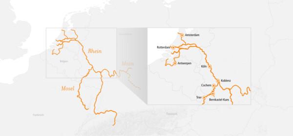 Rhein Kurs Nord und Mosel 2022