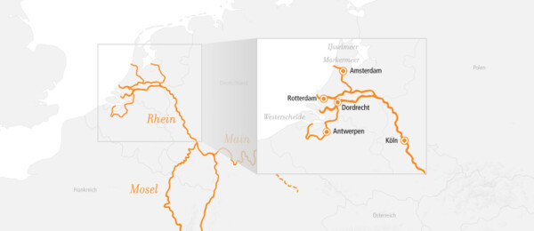 Rhein Erlebnis Amsterdam & Rotterdam 2022